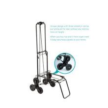 Trois bagages à roues chariot