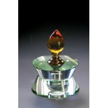 Fashion Light Shape Crystal Glass Perfume Bottle (JD-QSP-001)