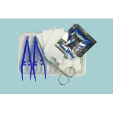Kit de curativos médicos esterilizados descartáveis