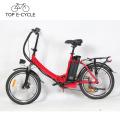 E-bike OEM com Silverfish Bateria 36 V 15.6Ah Bicicleta Elétrica 20 polegadas Dobrável Bicicleta Elétrica Fazer Na China