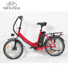 E-bike d'OEM avec la batterie de Silverfish 36V 15.6Ah vélo électrique pliant 20inch vélo électrique font en Chine