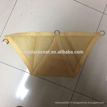 Protection UV de HDPE à l'extérieur de filet de voile de voile de parasol