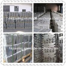 Suministro de alta pureza Antimonio Lingote 99,9% en precio de fábrica