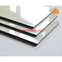 Dual Color Bicolor Tricolor Glossy High Gloss PE ACP Signage Panel