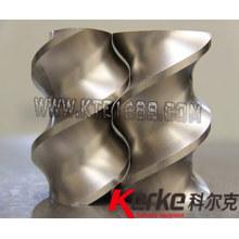 wear/corrosion  resisting twin screw extruder screw elements
