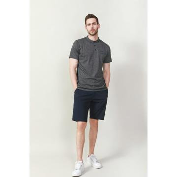 MÄNNER-CD-GARN STAN UP COLLAR POLOGOLFER