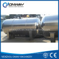 Fabrik Preis Öl Warmwasser Wasserstoff Wein Edelstahl Container Olivenöl Edelstahl Container Horizontal Wasser Tank
