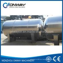 Fabrik Preis Öl Wasser Wasserstoff Speicher Tank Wein Edelstahl Container Ethanol Tank