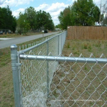 Galvanized PVC Coated Chain Link Fence for Playground