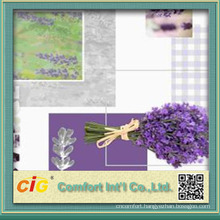 Fashion new design elegant waterproof soft laser print roll soft pvc film for table cloth and shower curtain