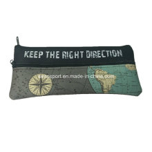 Promotion Custom Printed Neoprene Pencil Bag with Zipper (SNPC01)