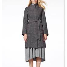 17PKCSC011 women double layer 100% cashmere wool coat