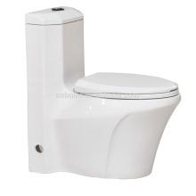 CB-9815 nouvelle conception double rinçage fashional sanitaires washdown une pièce japon toilettes