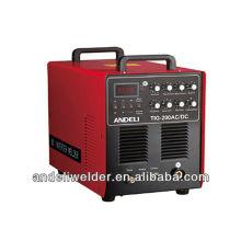 Hot selling IGBE Module Inverter DC portable aluminum welding machine TIG-200 AC/DC