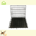 Black Folding Durable Pet Dog Cage