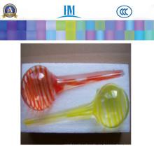 Paquete de 2 globos de agua Globos de agua de vidrio soplado a mano