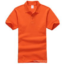 le dernier t-shirt des hommes de polo de chemise de conception vide