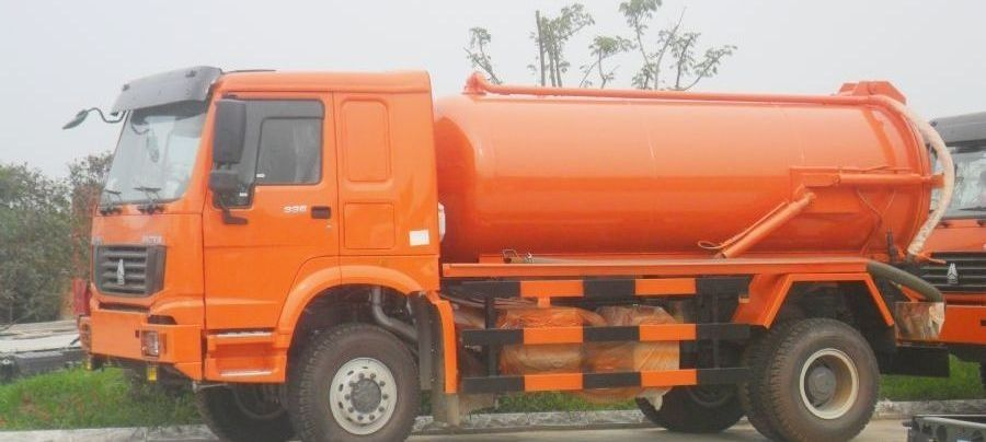 Sewage Septic Tank Cleaning Truck