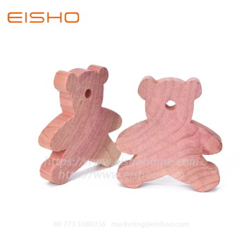 Blocs de bois de cèdre naturel Little Bear ECZD-3021-20