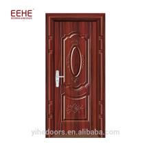 Günstige verzinkte Tür Tür aus Stahl mit Rahmen