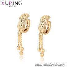 96890 xuping Umwelt Kupfer vergoldet Mode Tropfen Ohrring