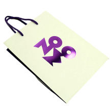 Pink Die Cut Shape Paper Bag For Wedding Favour Gift Shopping Package Bag With Customized Logo Printing