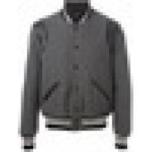 Grey Charcoal varsity jacket wholesale from pakistan