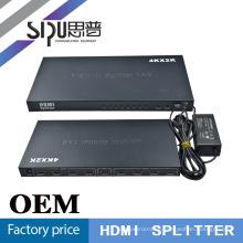 SIPU Metall Gehäuse Hdmi Splitter 1 x 8 für HDTV-Unterstützung 4 k * 2 k Silber, schwarz