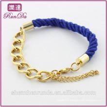 Alibaba hot sale indian blue rope bracelets