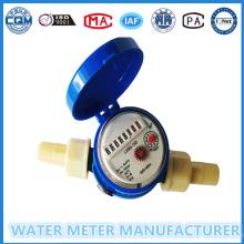 Single Jet Nylon Kunststoff Pulse Wasserzähler