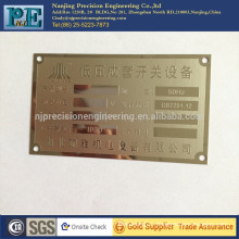 custom plastic device name signs with high technology