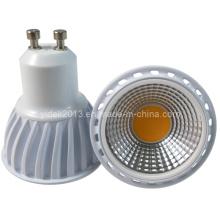 Bulbo del proyector de 5W COB 510lm Dimmable GU10 LED