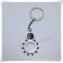 Wholesale Alloy Metal Key Chain Personalized Catholic Key Chlder (IO-ck107)