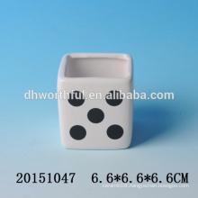 Decorative mini ceramic flower pots,antique ceramic flower pots