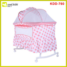 Hot sale europe standard baby crib with cradle