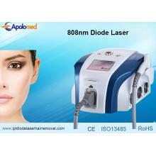 Laser permanente da depilação da remoção do cabelo do laser do diodo 808nm