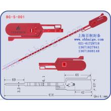 selos de segurança de plástico BG-S-001
