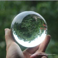 K9 60mm boule de cristal clair en verre pour la décoration