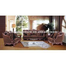 Sofá europeu de madeira francês XB10002