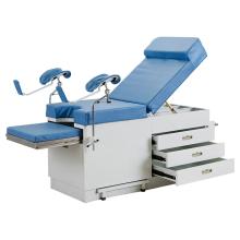 Hospital Manual Adjustable Gynecological Medical Delivery Bed Obstetric