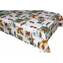 Pvc Printed fitted table covers Victorian Times