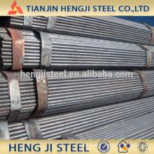 OD 33,7 mm 1 pouce d'épaisseur 1,7 mm Tuyau en acier soudé (tuyau en acier ERW)