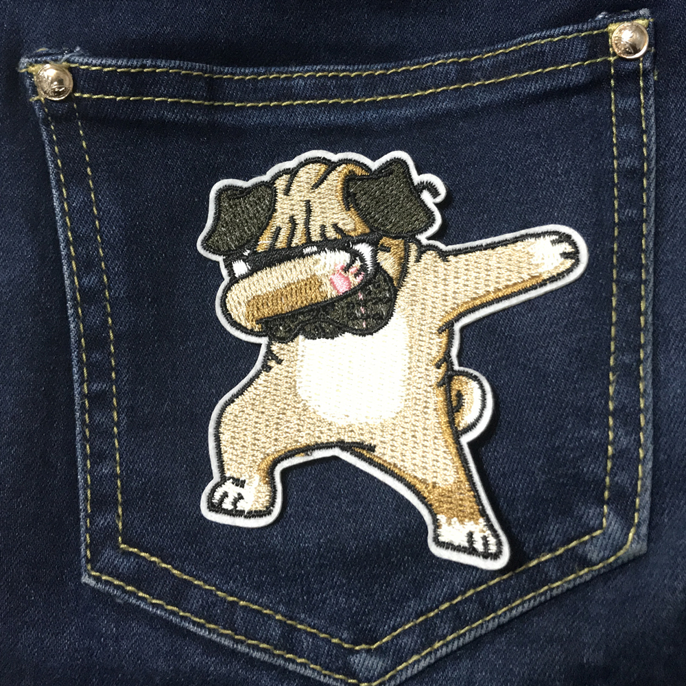 Dog Patches Lron On Badges