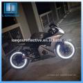 envoltório reflexivo adesivos de vinil para capacete de carro e bicicleta