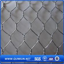Alta qualidade PVC revestido Hexagonal Wire Mesh.