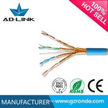 CU/CCA/CCS conductor PE insulation cat7 sstp lan cable