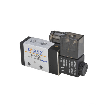 Ningbo Kailing two-position five-way single electric Hilong series solenoid valve 2630600