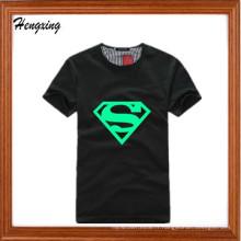 T-shirt lumineux fluorescent de Superman
