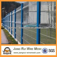 Высокое качество ПВХ покрытием наружной сетки забор
