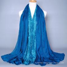 Stylish new style Arab women polyester fashion design muslim hijab scarf